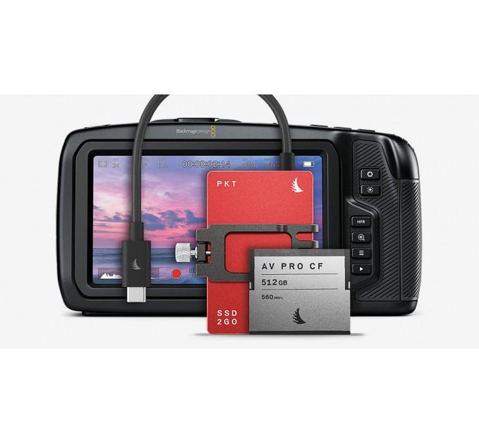 Match Pack for Blackmagicdesign Pocket Cinema Camera 6K 1 TB SSD2go PKT Red | 512 GB Cfast SSD 1 TB,
