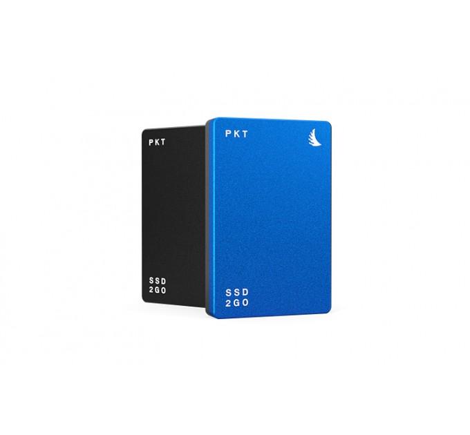 SSD2GO PKT MK2 2TB Blue Внешний SSD диск 2 TB. Интерфейс USB-C (голубой)