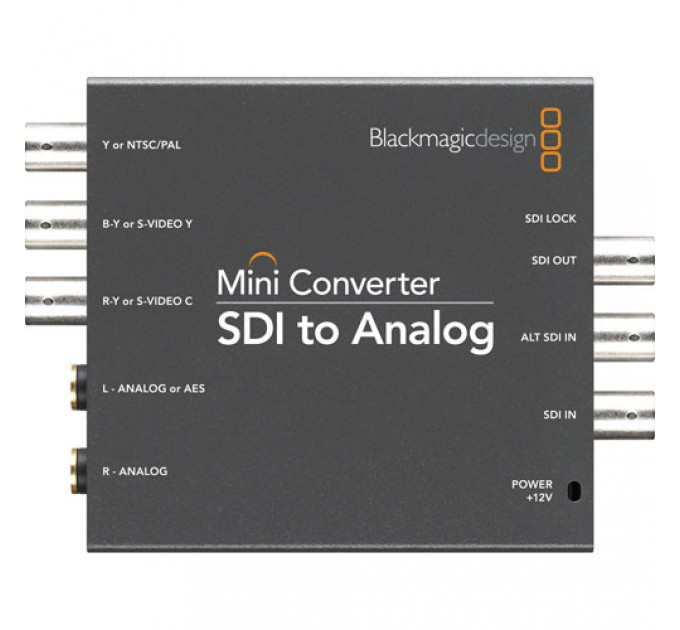 Blackmagic Mini Converter SDI to Analog мини конвертер