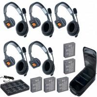 Eartec UltraLITE 5-S комплект гарнитур