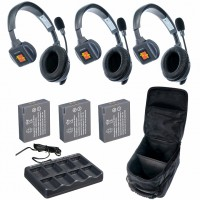 Eartec UltraLITE 3-S комплект гарнитур