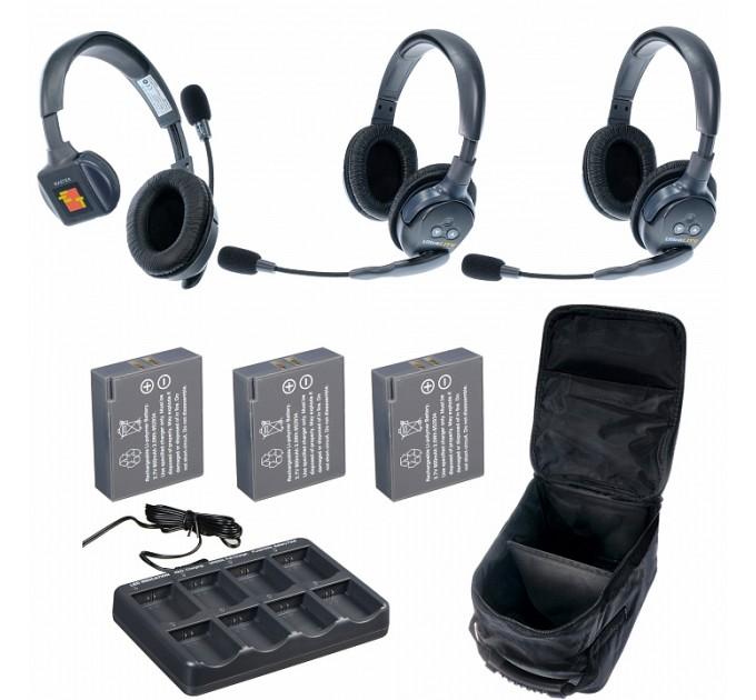 Eartec UltraLITE 3-12 комплект гарнитур