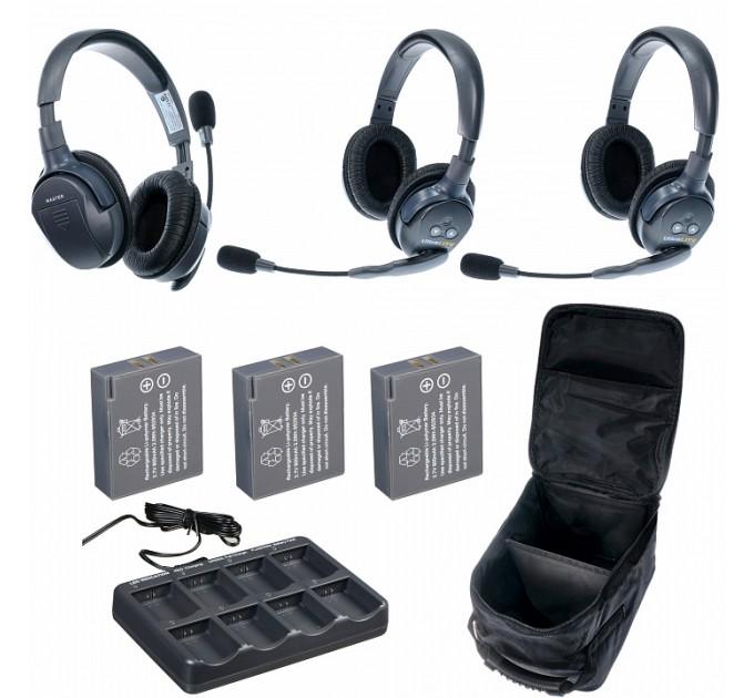 Eartec UltraLITE 3-D комплект гарнитур