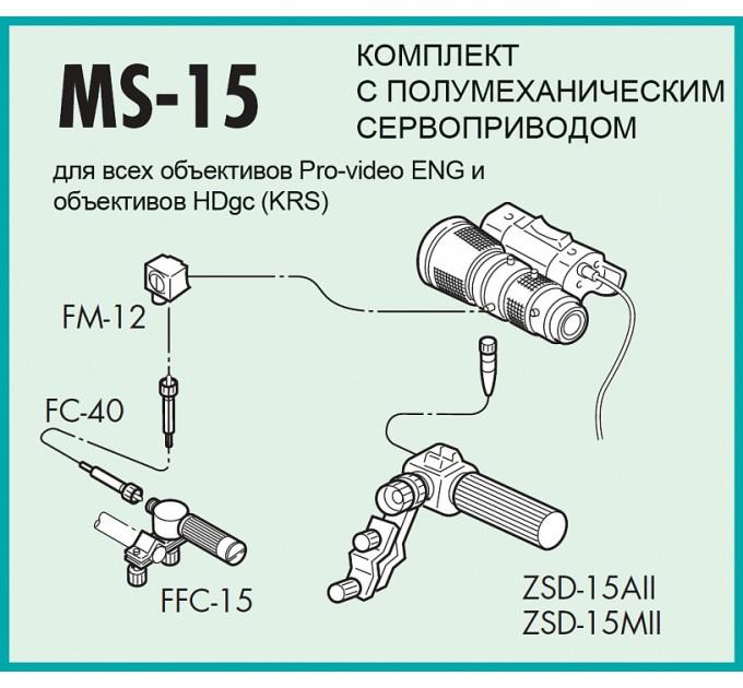 Fujinon MS-15 (Управление)