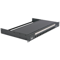 Les LPDU-14XF Устройство распределения питания сети переменного тока. Ввод powerCON, 14 выходов IEC C13, автоматические предохранители по каждому выходу.