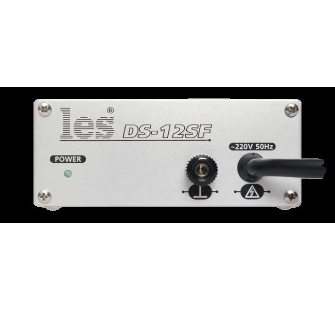 Les DS-12SF Усилитель-распределитель 1 в 2 симметричных аудиосигналов микрофонного уровня. Регулировка коэффициента передачи по входу, фантомное питание, компактный корпус.