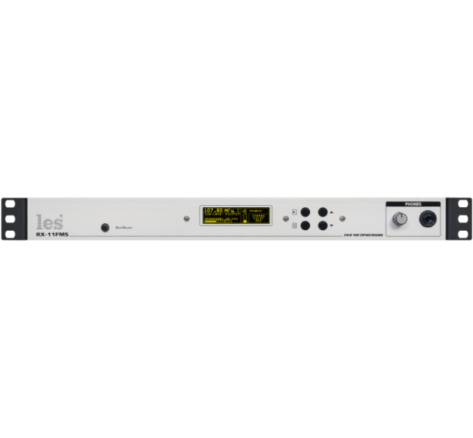 Les RX-11FMS Радиоприемник УКВ-ЧМ и FM диапазонов.