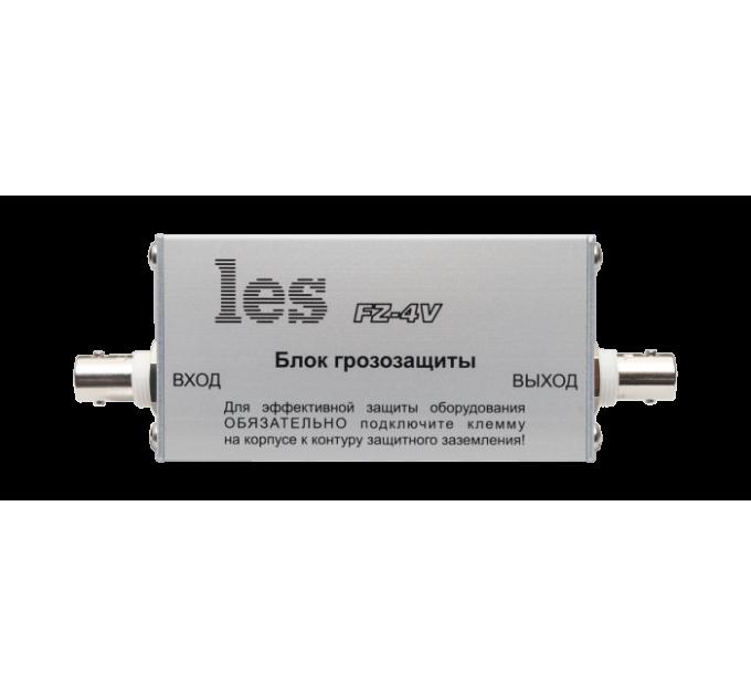 Les FZ-4V Блок грозозащиты для линий композитных CVBS видеосигналов. Разъемы BNC, компактный корпус.