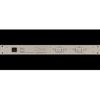 Les SW-2212SDAE 2 канальный коммутатор резерв 2 в 1 для SD-SDI и DVB-ASI сигналов. Управление с лицевой панели, по Ethernet и GPI, релейный обход, 2 БП.