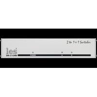 Les SW-212HD Коммутатор резерва 2 в 1 для HD/SD-SDI, DVB-ASI и CVBS сигналов. Автоматический и ручной (сигналами GPI) режимы переключения.