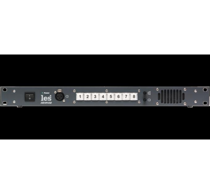 Les AK-81AS Блок на 8 абонентов для 4 проводной системы служебной связи. Внешний микрофон, встроенный динамик, мониторный выход.