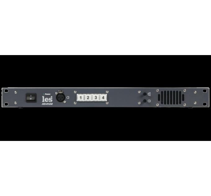 Les AK-41AS Блок на 4 абонента для 4 проводной системы служебной связи. Внешний микрофон, встроенный динамик, мониторный выход.