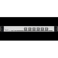 Les KR-61C (2017) (Архив) Активная панель управления сигналами GPI с 6 кнопками. Выбираемый тип выходного сигнала (уровень, импульс), входные GPI для подсветки кнопок, встроенный БП.