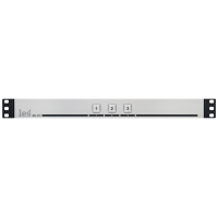 Les KR-31C Активная панель управления сигналами GPI с 3 кнопками. Выбираемый тип выходного сигнала (уровень, импульс), входные GPI для подсветки кнопок, встроенный БП.