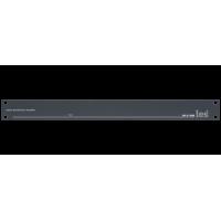 Les DS-212NS 2-х канальный усилитель-распределитель 1 в 2 несимметричных аудиосигналов, выходные сигналы симметричные.