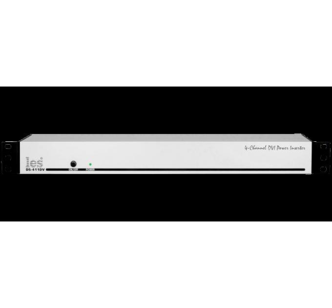 Les DS-411DV 4 канальное устройство ввода дополнительного питания +5В/0,25А в DVI сигнал.