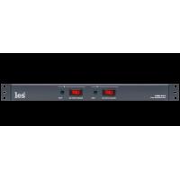 Les LPDU-27C1 Двухканальное устройство распределения электропитания. Входные разъёмы powerCON, 7 выходов IEC C13 на канал, без защитного колпачка на кнопках включения.