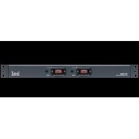 Les LPDU-27C Двухканальное устройство распределения электропитания. Входные разъёмы powerCON, 7 выходов IEC C13 на канал, с защитным колпачком на кнопках включения.
