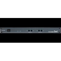 Les SW-2212SDAM Двухканальный коммутатор резерва потоков DVB-ASI TS/T2-MI. Управление с лицевой панели, по Ethernet и GPI, релейный обход, 2 БП.