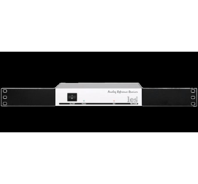 """Les TR-24SR Приёмник синхросигналов. Анализирует каждый кадр, выделяет синхроимпульсы, отправляет синхропакеты по UDP через IP и RS-232, управляется по web-интерфейсу. Корпус 10""""."""