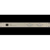 Les SW-2212HD 2 канальный коммутатор резерва 2 в 1 для HD/SD-SDI и DVB-ASI сигналов. Управление с лицевой панели, по Ethernet и GPI.