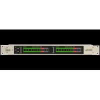 Les MS-24AS2 4 канальный измеритель уровня аналоговых симметричных аудиосигналов. Индикатор - светодиодная линейка, 48 ступеней индикации уровня.