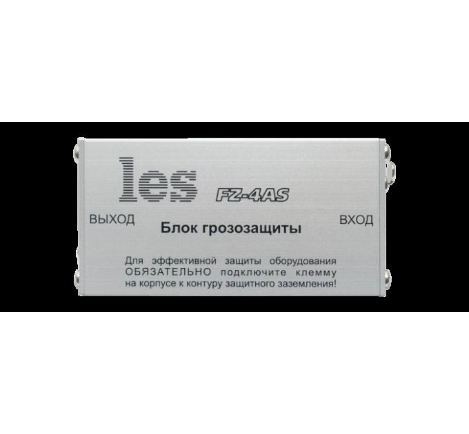 Les FZ-4AS Блок грозозащиты для линий симметричных аудиосигналов. Компактный корпус.