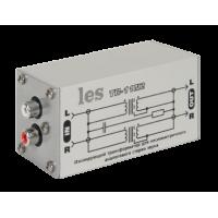 Les TR-11N2 Изолирующий трансформатор для аналоговых стерео несимметричных аудиосигналов. Компактный корпус.