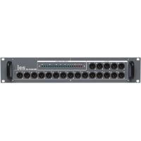 Les DS-120AS-IND Усилитель-распределитель 1 в 20 симметричных аудиосигналов. Индикатор уровня, корпус 2RU.