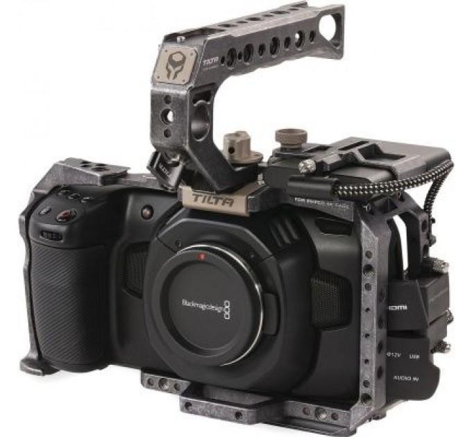 Комплект клетки Tilta TA-T01-B Basic для BMPCC 4K/6K - Цвет Tactical Grey
