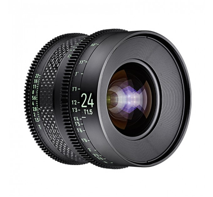 XEEN CF 24mm T1.5 FF CINE Lens Canon кинообъектив с карбоновым корпусом