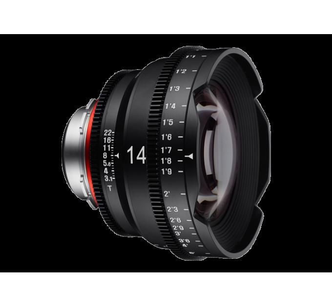 XEEN 14mm T3.1 FF CINE Lens Sony E кинообъектив с алюминиевым корпусом