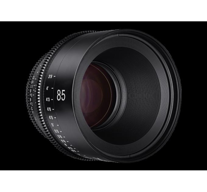 XEEN 85mm T1.5 FF CINE Lens PL кинообъектив с алюминиевым корпусом