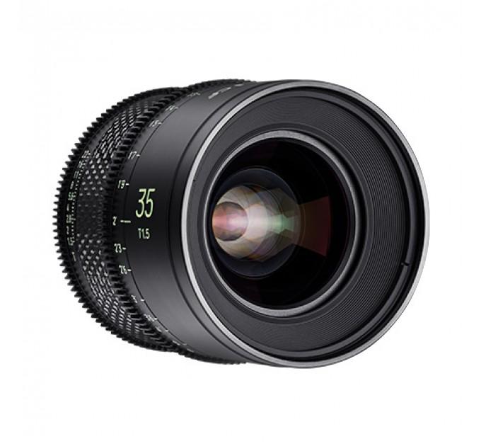 XEEN CF 35mm T1.5 FF CINE Lens Canon кинообъектив с карбоновым корпусом