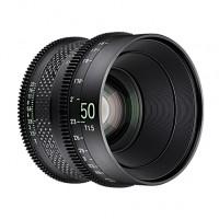 XEEN CF 50mm T1.5 FF CINE Lens Sony E кинообъектив с карбоновым корпусом