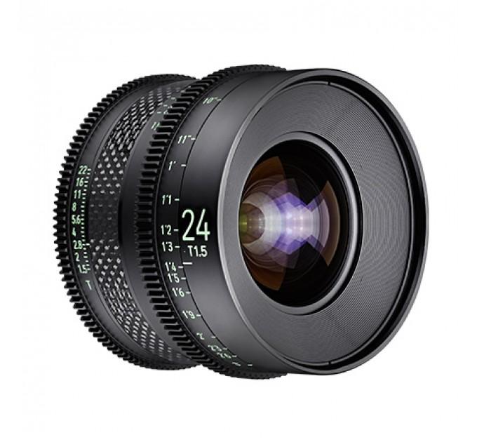 XEEN CF 24mm T1.5 FF CINE Lens PL кинообъектив с карбоновым корпусом