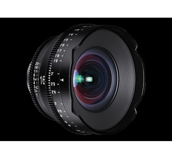 XEEN 16mm T2.6 FF CINE Lens Nikon кинообъектив с алюминиевым корпусом