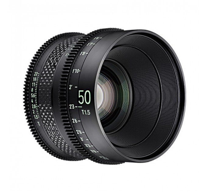 XEEN CF 50mm T1.5 FF CINE Lens Canon кинообъектив с карбоновым корпусом