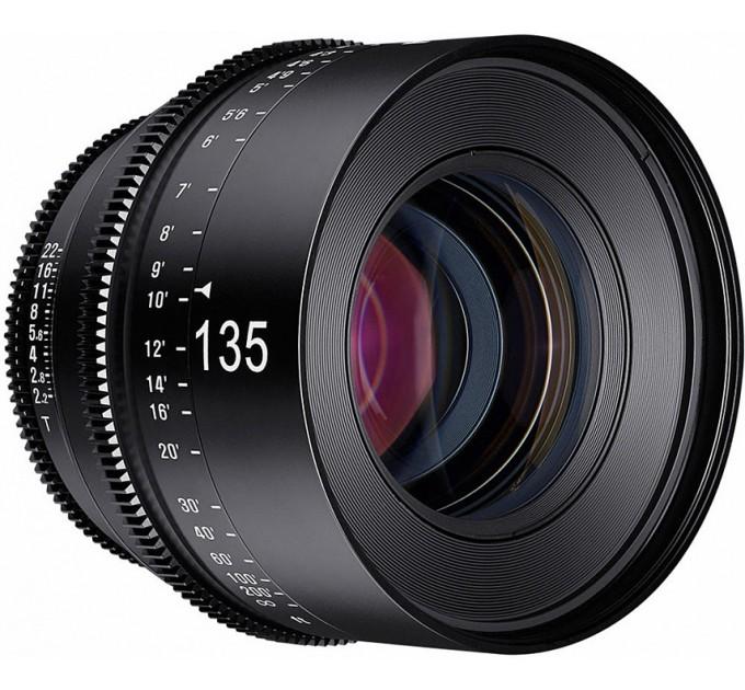 XEEN 135mm T2.2 FF CINE Lens Sony E кинообъектив с алюминиевым корпусом