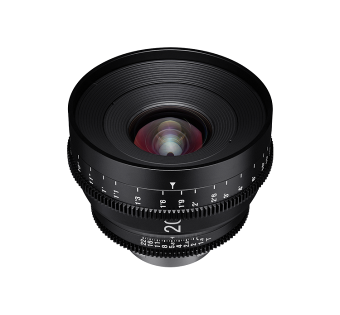 XEEN 20mm T1.9 FF CINE Lens Canon кинообъектив с алюминиевым корпусом