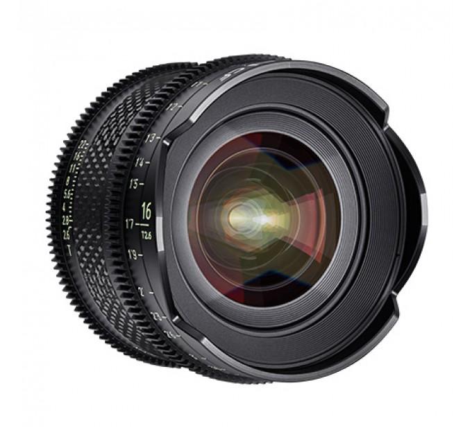 XEEN CF 16mm T2.6 FF CINE Lens Canon кинообъектив с карбоновым корпусом