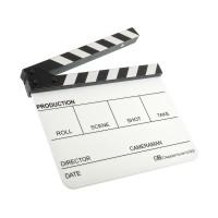 Кинохлопушка GreenBean Clapperboard 03 (белая)