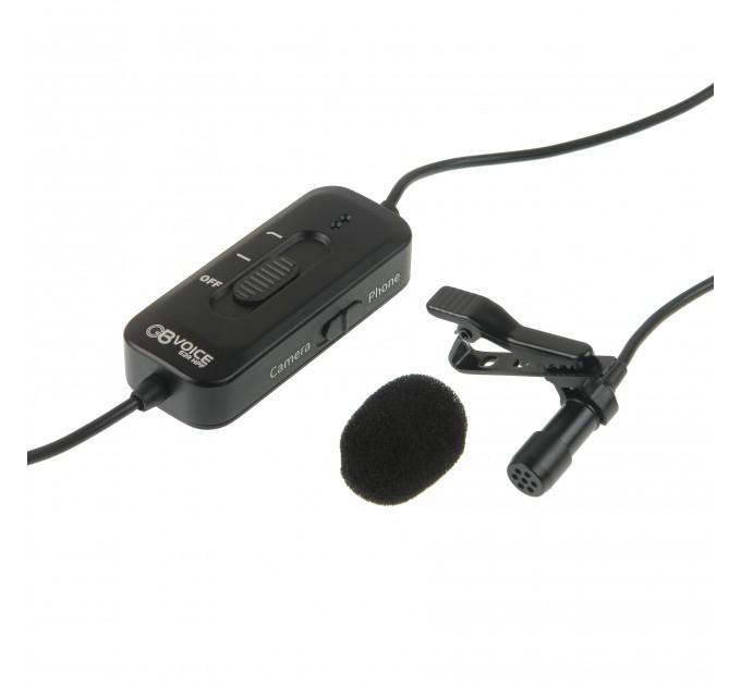 Микрофон петличный GreenBean Voice E2R HPF