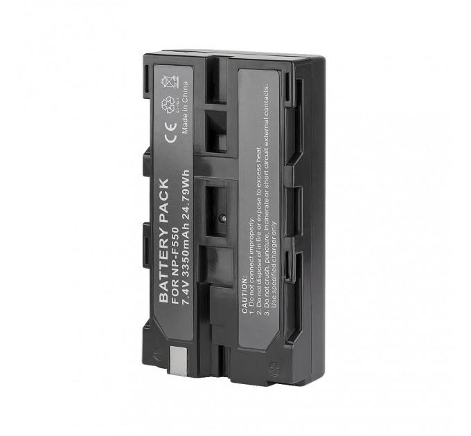 Аккумулятор литий-ионный GreenBean NP-F550 (3350 мАч) купить TVA