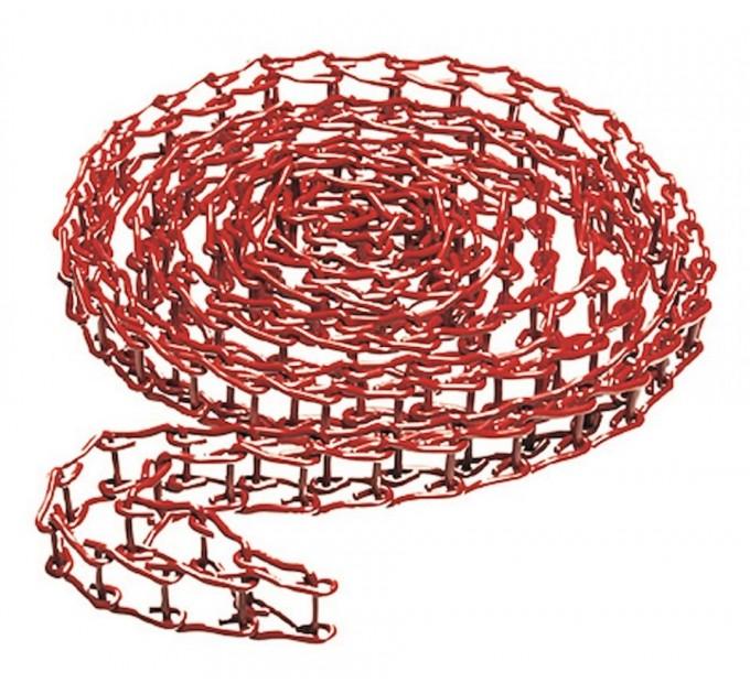 Цепь металлическая для Expan, красная