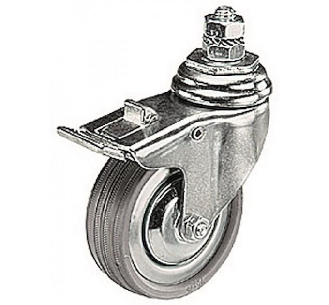 Комплект колес 75 мм с тормозом