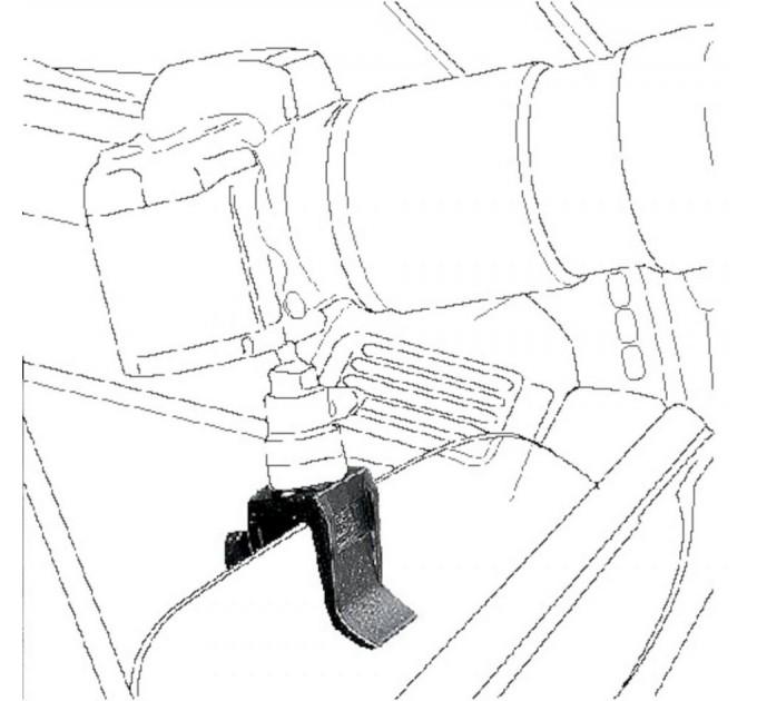 Зажим-опора для автомобильных окон