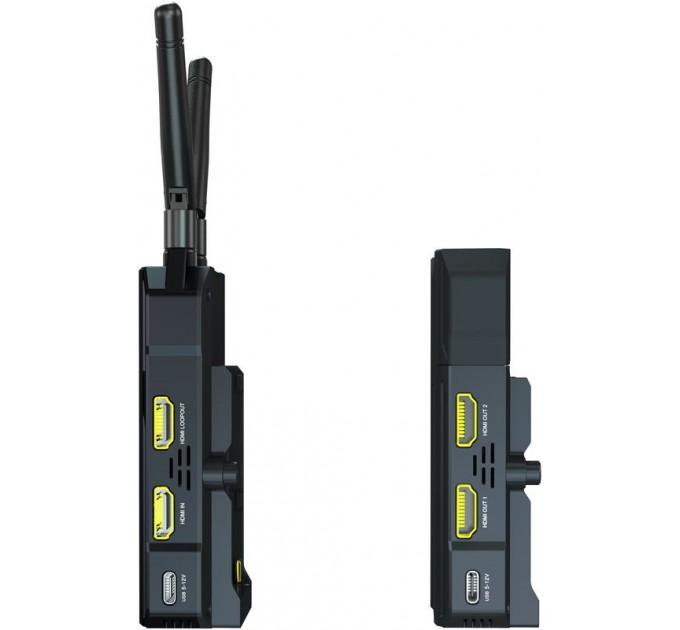 Hollyland Mars 300 Pro Enhanced 300ft wireless HDMI transmitter Видеосендер. Рабочий частотный диапазон: 5 ГГц, Дальность действия до 100 м в условиях прямой видимости
