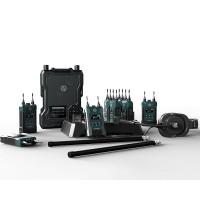 Hollyland Solidcom M1 (8 beltpacks)  1350ft wireless intercom system. Беспроводной интерком 8 абонентов. Дальность действия до 450 м в условиях прямой видимости