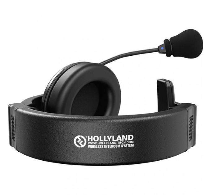 Hollyland Syscom1000T (4 belpacks) Беспроводной интерком с Tally на 4 абонента. Полнодуплексная беспроводная связь на дистанции до 300 м в условиях прямой видимости